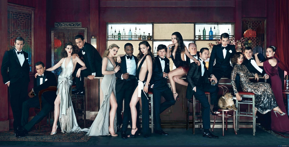 Vanity Fair March 2011 Cover - The Hollywood Issue by Norman Jean Roy