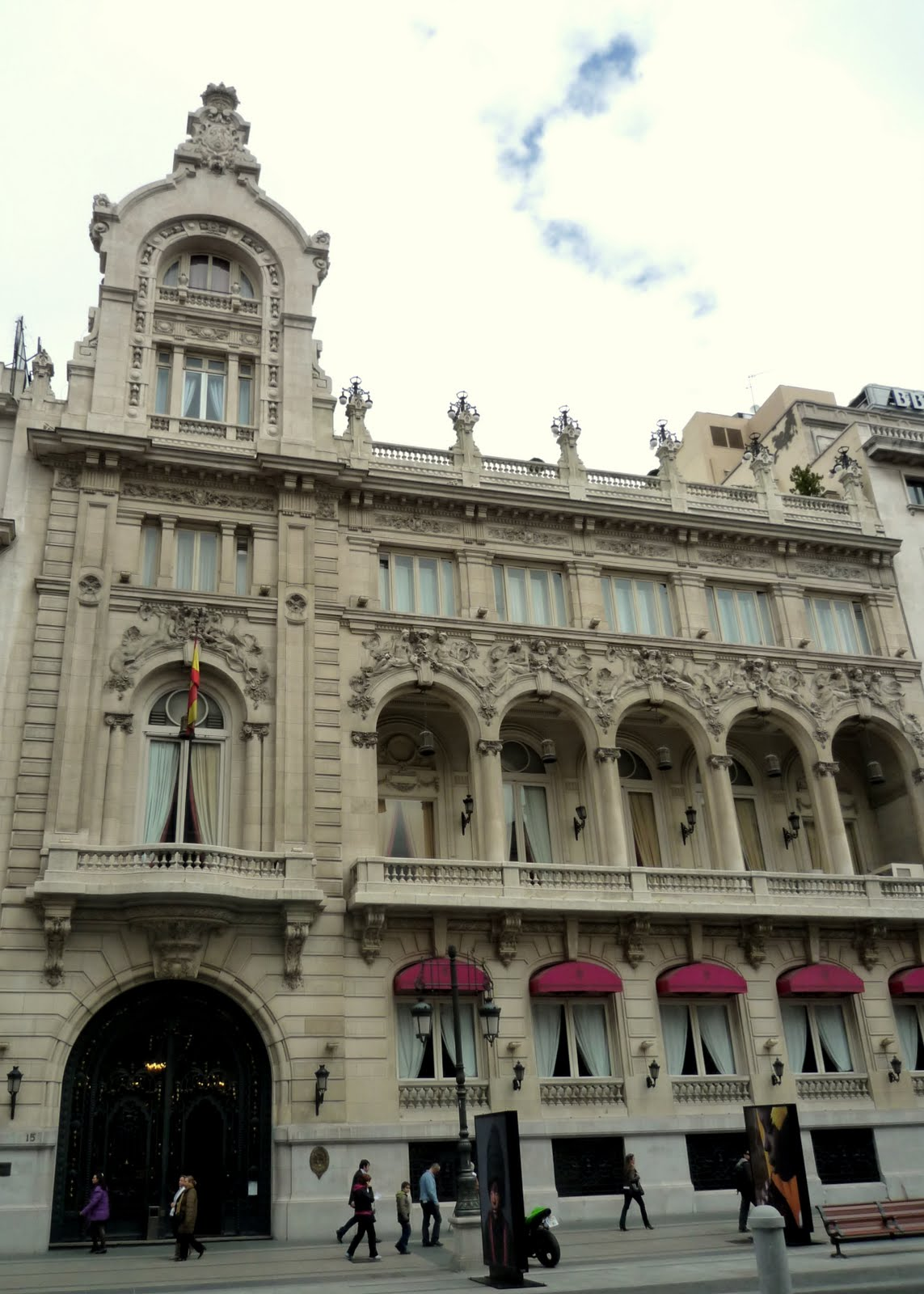 Le casino de madrid restaurant