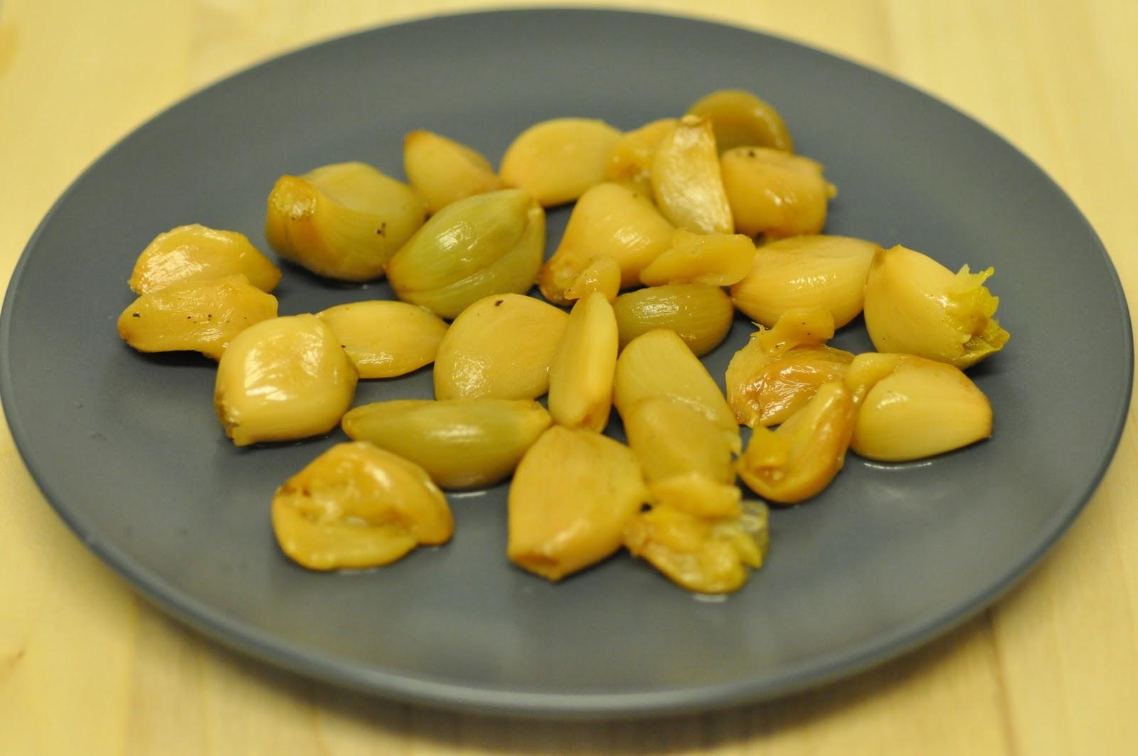 Handsindough: 44-clove garlic soup (sopa de ajo con Parmesano)