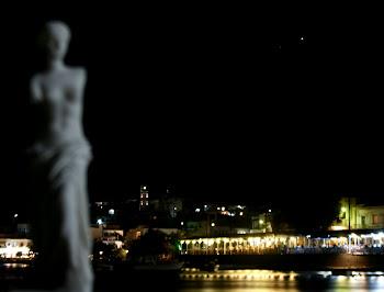 Venus over her island, Milos