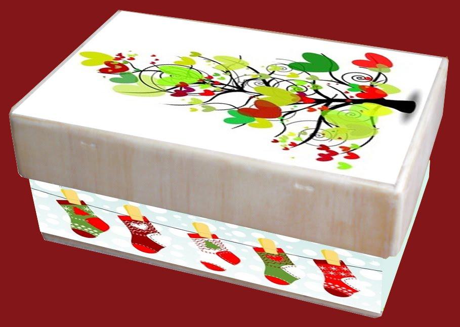 Arte y decoracion cajas de madera decoradas for Decoracion de cajas