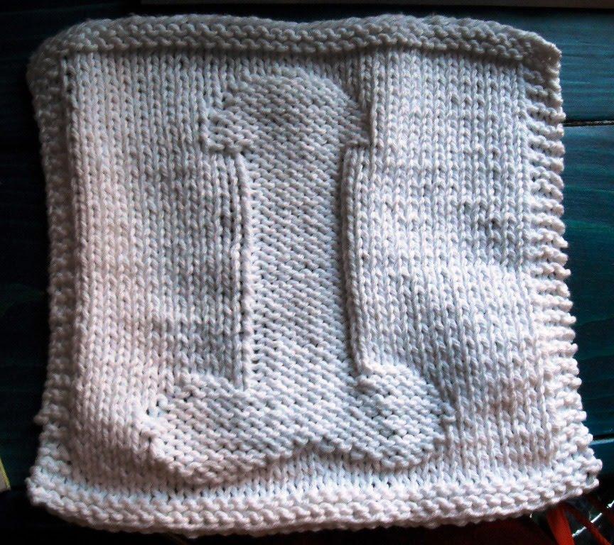 Nadine\'s Patterns: Big Dick Dishcloth/Passion Cloth- Knit