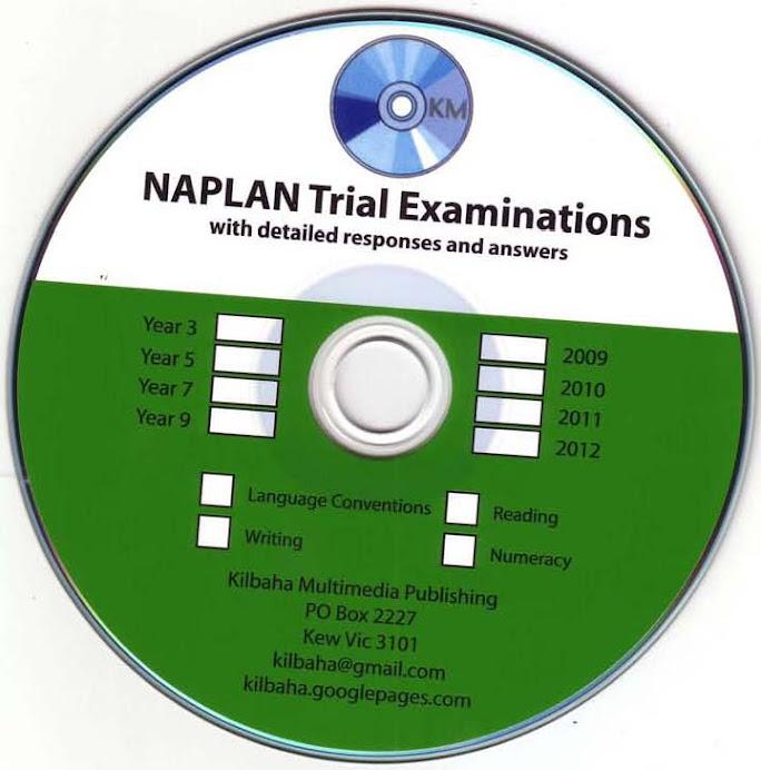 2015 NAPLAN Trial Tests
