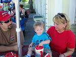 My Hubby, Grandson Wyatt & Me