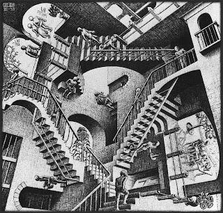 Relativity [M. C. Escher]