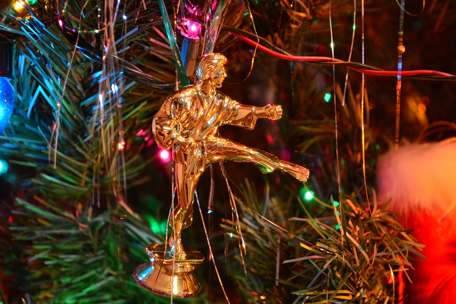 Karate christmas ornament - Suicidal Trophies And Christmas Ornaments