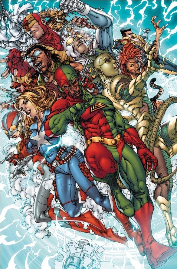 Harvey Tolibao's artwork in The Avengers