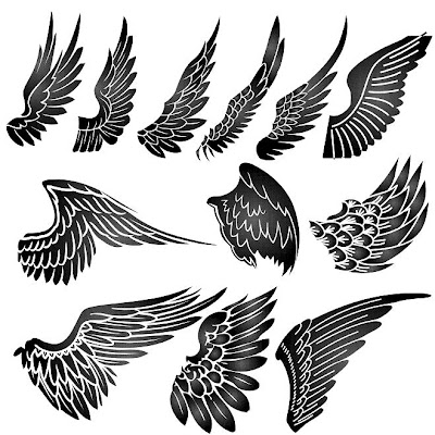 small wing tattoos