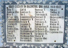 Eroii cazuti in razboiul 1941-1945