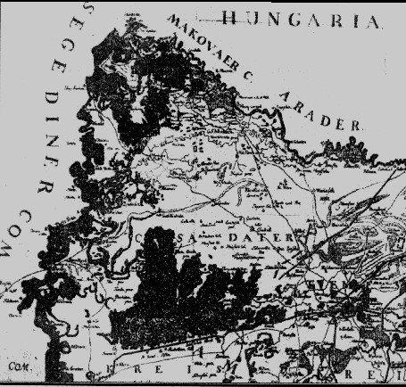 Harta lui Grisellini - 1780