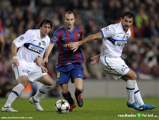 Resumen del Partido Barcelona 1 Vs Inter de Milan 0
