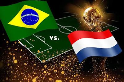 Resultado Partido Brasil vs Holanda ( Historica Eliminacion Del Pentacampeon )