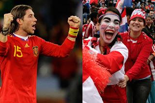 Resultado Partido España vs Paraguay