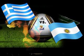 Resultado del Partido Argentina vs Grecia