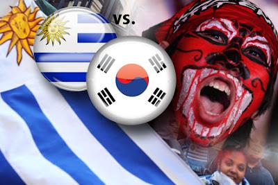 Resultado Partido Uruguay vs Corea