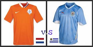 Ver Holanda vs Uruguay Online en Vivo