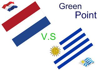 Resultado Partido Holanda vs Uruguay