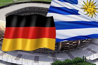 Resultado Partido Alemania vs Uruguay