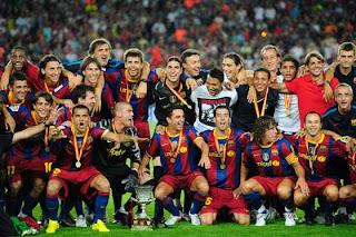 Barcelona Se Corono Campeon De La Supercopa De España