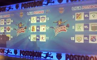 Programacion Primera Fecha Del Futbol Colombiano – Liga Postobon 2011