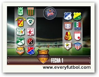 Resultado Partidos Primera Fecha De La Liga Postobon 2011