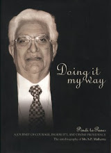 Autobiography of S.P. Malhotra