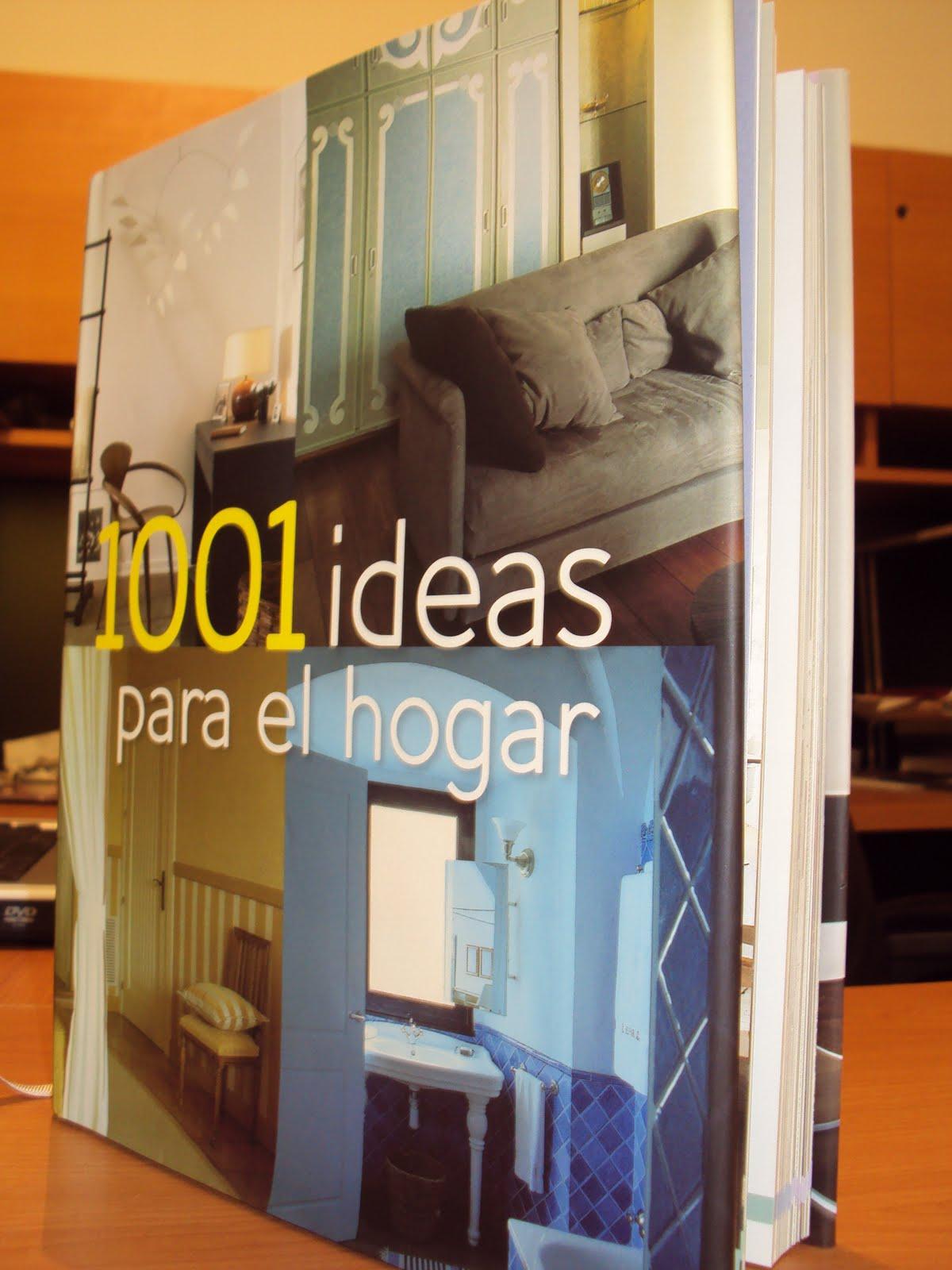1001 ideas para el hogar mujer de libros