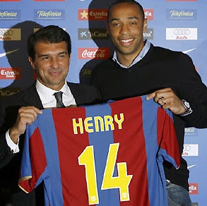 Henry Completes Move to Barcelona