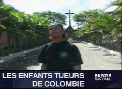 Envoyé Spécial - Les enfants tueurs de Colombie affiche