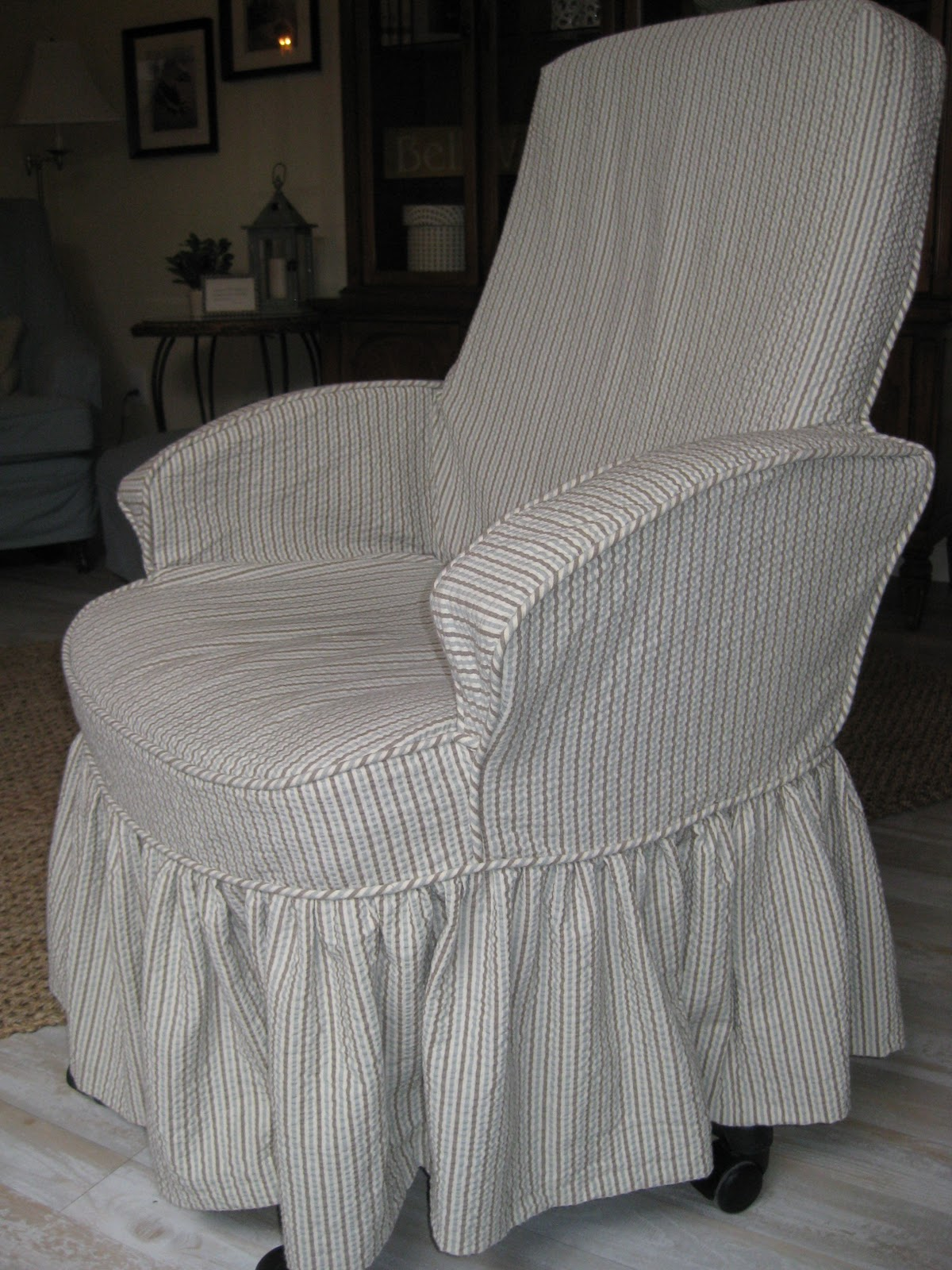 Custom Slipcovers by Shelley Roxanne s house