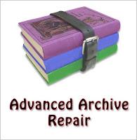 advanced archive repair logo