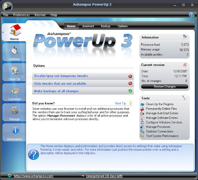 powerup 3 screen
