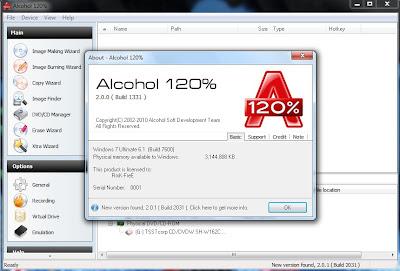 Alkohol 120% full