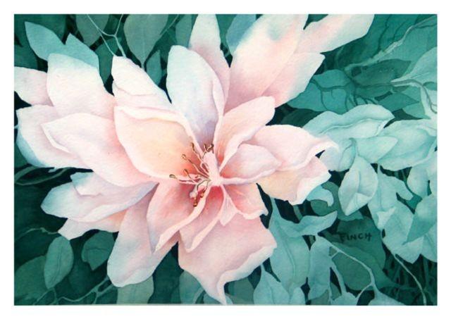 """Blossom    18"""" X 24""""       $600"""