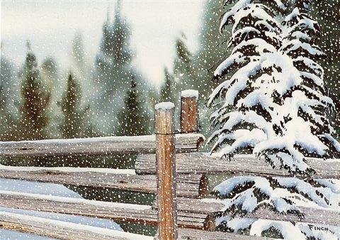 "Fresh Snow  18"" X 24""    NA"