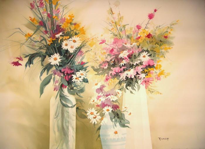 """Floral Arrangement  22"""" X 28"""" $850"""