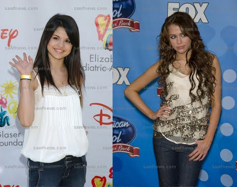 Selena Gomez Songs List on Stars Selena Gomez And Miley Cyrus Are Nominated For Mtv S Video Music