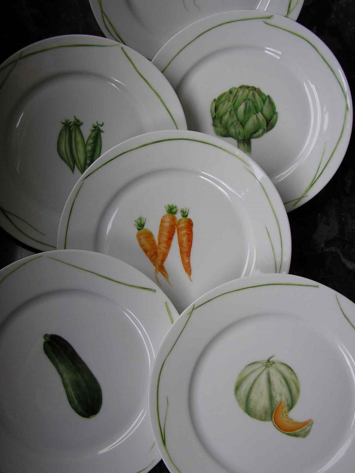Christine dupin porcelaine mai 2010 for Decoration sur porcelaine