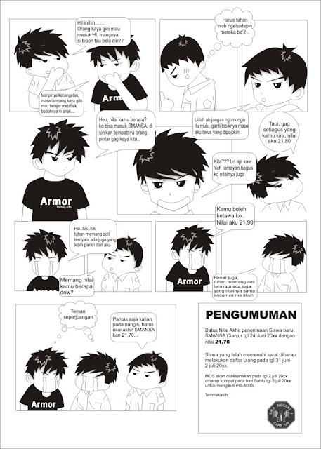6 Trik membuat Komik di photoshop