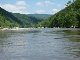 French Broad River North Carolina