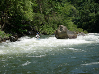 Diamond Splitter rapid on the Ocoee