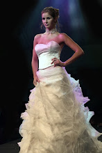 Vestido de noiva tulle vincado
