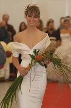Vestidos e ramos de noiva