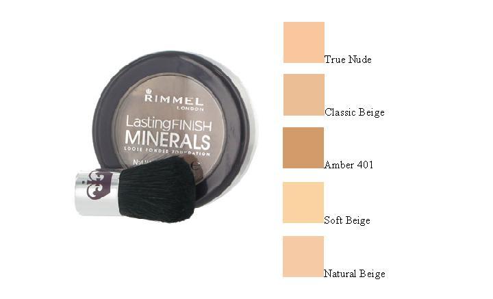 Rimmel Lasting Finish Foundation. Rimmel Lasting Finish Minerals