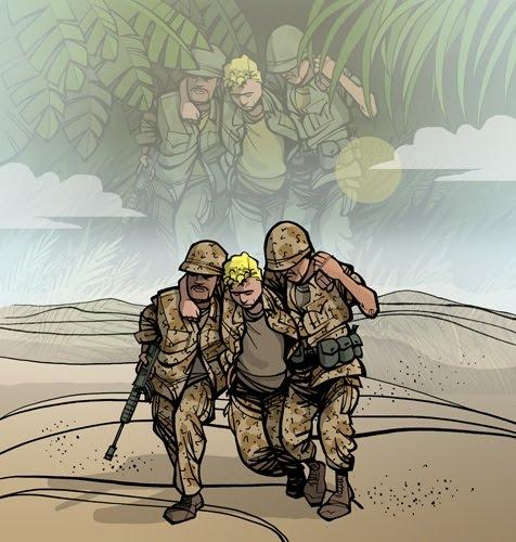 The Comic News Editorial Cartoon By Paul Conrad Tribune: DAVID WASTING PAPER: Kirk Anderson