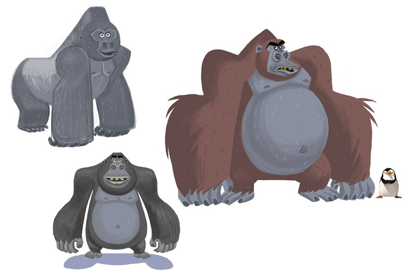 Stephen Silver Character Design Course : David wasting paper november