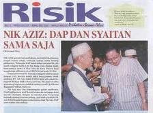 DAP SYAITAN - Nik Aziz