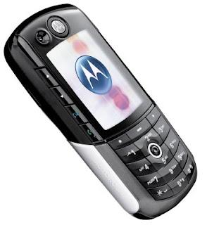 Setting GPRS Motorola E1000