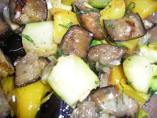 Articole culinare : Insalata di verdure cotte al forno( Salata de legume coapte la cuptor)