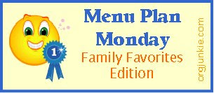 familyfavs 1 Menu Plan Monday   September 22